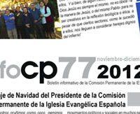 Boletín Informativo de la Comisión Permanente de la Iglesia Evangélica Española