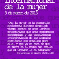 Día Internacional de la Mujer 2103