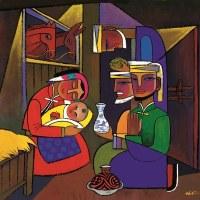 """""""Los sabios""""- He Qi  Material utilizado con la generosa autorización del artista. www.heqiart.com"""